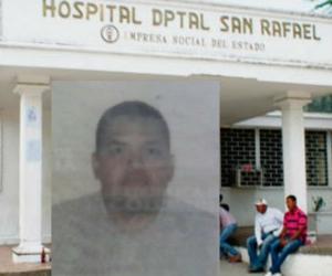 Médicos del hospital de Fundación trataron de salvarle la vida, pero no fue posible.