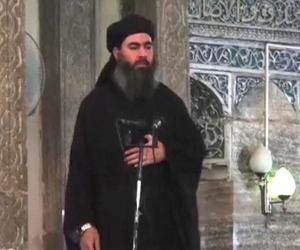 Abu Bakr al Bagdadi, líder del EI.