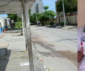 Diego Armando Cassiani fue llevado a la Clínica La Misericordia en donde falleció.