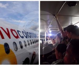 Este martes, la aerolínea de bajo costo VivaColombia propuso  llevar pasajeros de pie en las aeronaves.