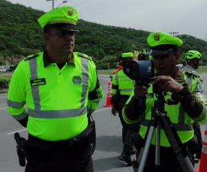 Las autoridades reforzaron las acciones de seguridad en los puntos de entrada y salida de Santa Marta.