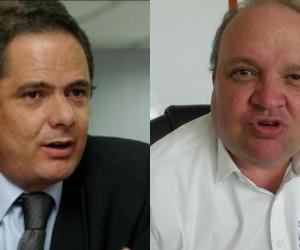 Germán Vargas Lleras y Jorge Enrique Vélez.
