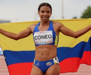 La bolivarense se subió a lo más alto del podio.