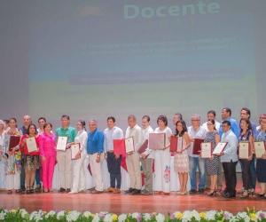 El Consejo Académico de la Universidad del Magdalena, hizo entrega de reconocimientos a 46 de sus docentes.