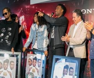Goyo, Slow Mike y Tostao agradecieron a todos los que han hecho posible que su música llegue a todos los rincones del mundo.