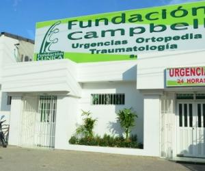 Instalaciones de la clínica donde fueron remitidos los hinchas.