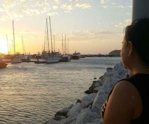 Claudia Nieto, ama Santa Marta y sueña con tener un negocio frente al mar.