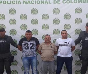 Captura a tres integrantes de 'Los Pachencas' señalados de extorsionar en Santa Marta.