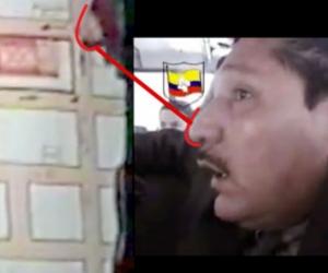 Esta fue la relación que hizo la Fiscalía con la nariz de Sigifredo López.