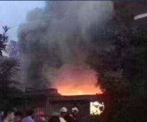Los agentes encontraron los cadáveres de 22 personas una vez que pudieron acceder a la vivienda en a localidad de Changshu, en la provincia oriental de Jiangsu, China.