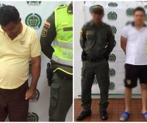 Estos fueron los dos hombres capturados por presunto abuso sexual de una mujer con discapacidad.