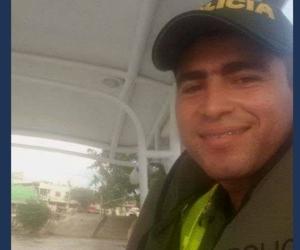 Wilmer Palencia, policía implicado en las tres muertes en Montería.