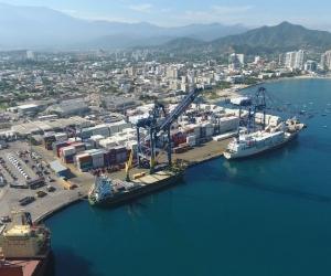 Las exportaciones desde el Puerto de Santa Marta llegan a 7 millones de toneladas anuales.