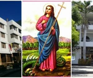 Santa Marta no solo le da el nombre a la ciudad, sino que es la santa de los hoteleros.