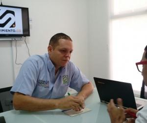 Edgardo Pérez, alcalde de Ciénaga, en entrevista con Seguimiento.co