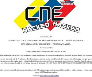 Hackearon páginas webs de los poderes públicos e instituciones del Estado venezolano.