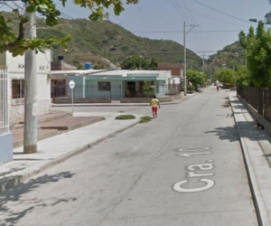 El feminicidio se dio en la Carrera 10 No. 4-42 B, en el barrio Pescaíto.