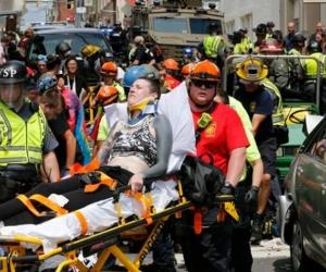 Imagen del momentos de la emergencia.
