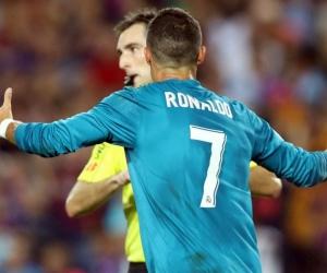 Cristiano Ronaldo, expulsado en el partido por la Supercopa de España