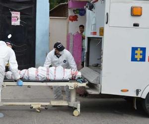 Imagen de contexto de un levantamiento de un cadáver en el barrio Nacho Vives.