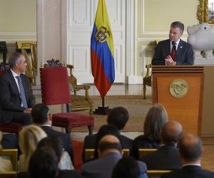El gobernante ratificó el apoyo de su Gobierno tanto a la Fiscalía como a los organismos de control.