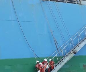 Rescate del buque de bandera de Hong Kong