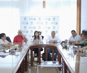 El consejo de seguridad para analizar el caso se realizó en el Despacho de la Gobernación del Magdalena.
