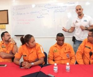 Reunión del Comité Distrital de Emergencia