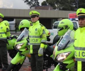 Policía está atento a lo que sucede en las entradas y salidas de las vías más importantes de Colombia.