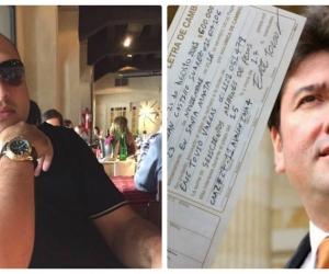 Eric Tovío (izq) prendió el ventilador en contra tratando de vincular a Fabián Castillo con una deuda millonaria.