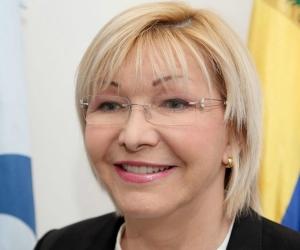Luisa Ortega, destituida fiscal de Venezuela.