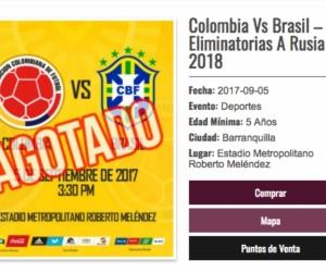 La Superintendencia de Industria y Comercio suspendió a la empresa expendedora de entradas. Asegura que engañó al pueblo colombiano.