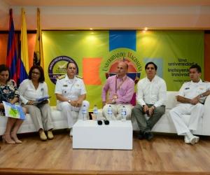 Conversatorio en la Universidad del Magdalena sobre riesgos de Tsunami