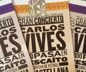 7 mil boletas gratis fueron entregadas para los asistentes al concierto.