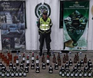 Parte de la mercancía incautada por la Policía