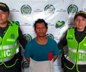 Jhon Jairo Mendoza Yaneht, capturado en Valledupar