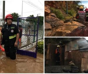 Diferente emergencia se presentaron en la capital del Magdalena.