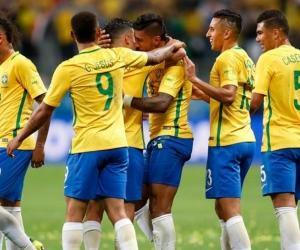 La selección de Brasil, asegurada para Rusia 2018.
