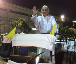 Mario Tarud, doble del papa Francisco