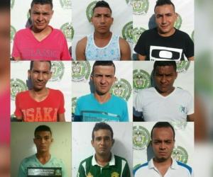 Estos fueron los integrantes capturados.