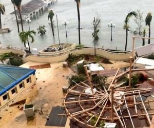 Hasta el momento el poderoso huracán Irma ha golpeado las islas de Barbuda, Antigua, Anguila y Saint Martin mientras se dirigía hacia Puerto Rico.