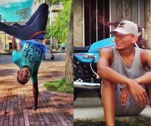 Jhonier el bailarín de Breakdance