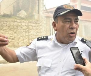 El capitán Jaime Pérez, Comandante del Cuerpo de Bomberos, entregó el balance y dijo que ya fue controlada la conflagración.