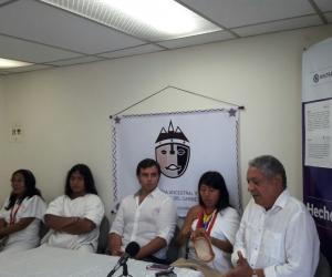 Acto de lanzamiento de la primera Feria Ancestral y Cultural del Caribe