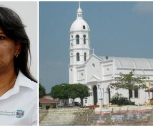Nidia Rosa Romero, secretaria de Educación del Magdalena.