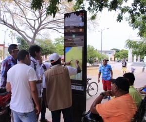 Señalización turística en Ciénaga