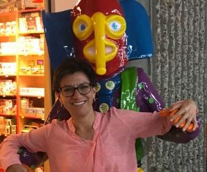Claudia López llegó a reconciliarse con la marimonda del Carnaval