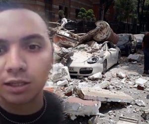 El samario Esteban Ocando vivió momentos de angustia.