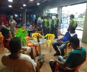 Durante el fin de semana de Amor y Amistad, la Policía empleó 1.500 uniformados para cuidar la ciudad.