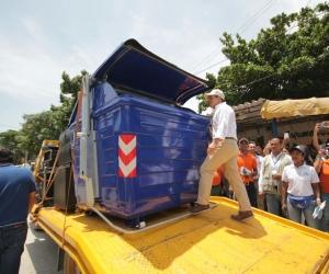Estos son los contenedores que serán instalados en distintos puntos de Santa Marta.